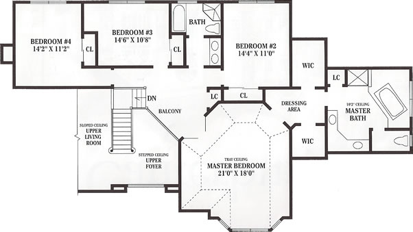 The canterbury floor plans island estates homes Canterbury floor plan